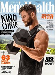 Couverture du magazine Men's Health avec Chris Hemsworth