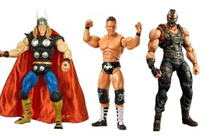 Examples of modern action figures for boys