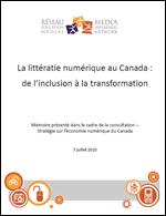 La littératie numérique au Canada : de l'inclusion à la transformation